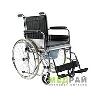 Инвалидная коляска с судном FS681 Foshan