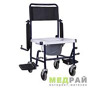 Кресло-каталка с санитарным оснащением OSD-MOD-JBS 367A