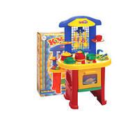 Кухня 3 - іграшка пластмас., в кор. 56*49*15см, ТМ Технок, Україна (3шт)(2124)