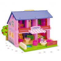 Домик для кукол, в кор. 60*40см, ТМ Wader (5шт)(25400)