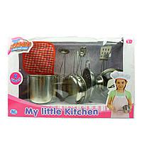 Кулинарный набор, нерж., детский, 8 предметов, в кор. 33*21*10см(S071)
