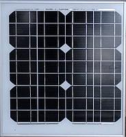 Солнечная панель Solar board 20W 18V ZK