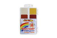 Акварель,медовая, б/п,8цветов, впластиковойкоробке(7228)