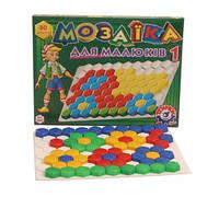 Мозаика  для малышей 1, (80 елемент.), в кор. 45*34*4см, ТМ Технок, Україна (11шт)(2063)