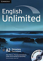 English Unlimited. Elementary Coursebook (With e-Portfolio DVD-Rom)