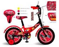 Велосипед 2-х колес 14 181416 1шт со звонком,зеркалом,руч.тормоз
