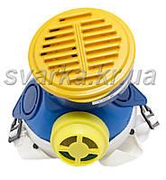 Респиратор Пульс-М  Горловка (1 картридж) шахтный пылевой фильтр ПФ1А ткань НФП