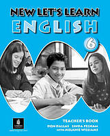 New Let's Learn English 6. Teacher's Book