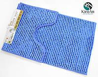 """Набор ковриков в ванную комнату """"Anti-slip mat"""" 50х80см Синий цвет"""