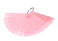 Палитра веер на кольце розовая, 50 типсов, фото 1