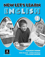 New Let's Learn English 4. Teacher's Book