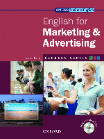 Oxford English for Marketing & Advertising. Student's Book (+ CD-ROM)