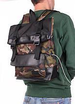 Камуфляжный рюкзак POOLPARTY Commando, фото 3