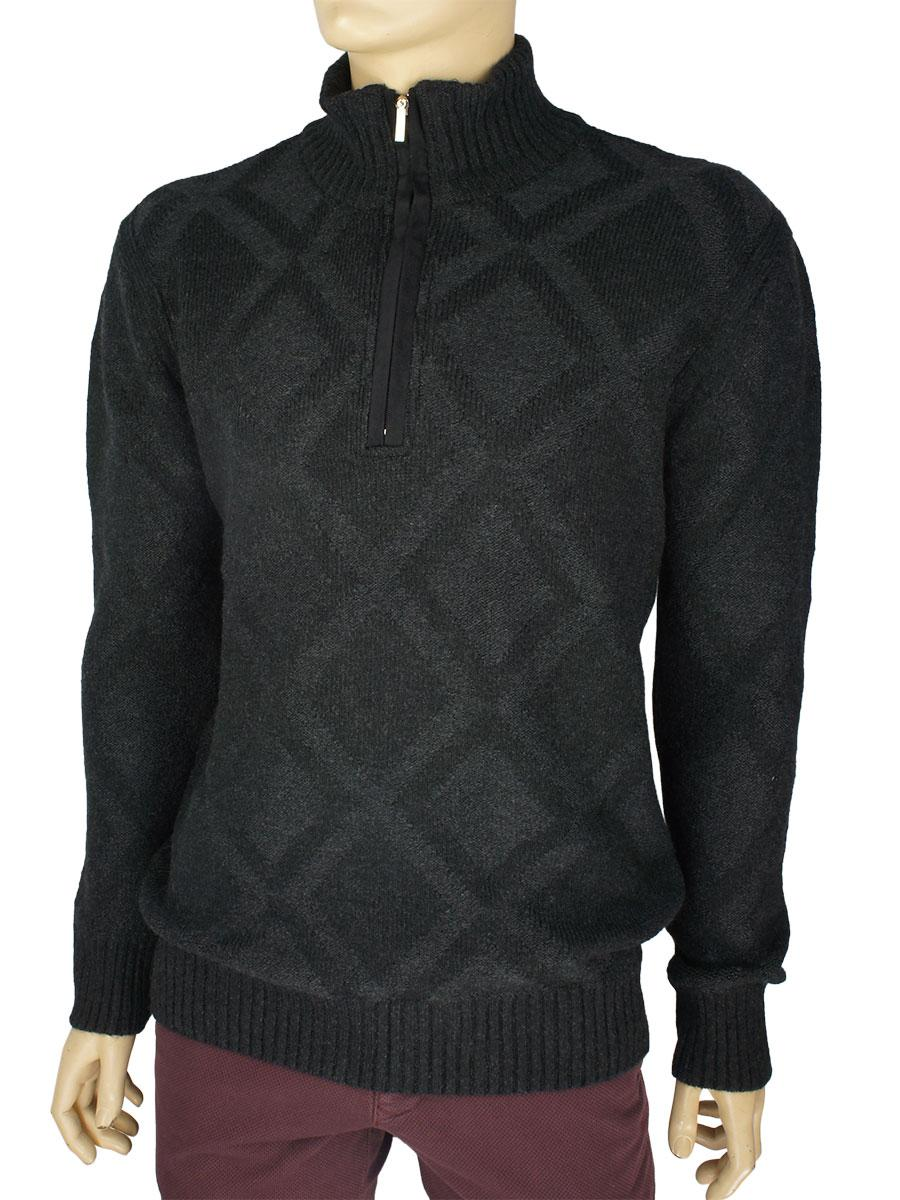 Стильний чоловічий в'язаний светр Bagutta 45352