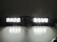 Стробоскопы  белые S5-4 LED.12-24В. с ДХО.
