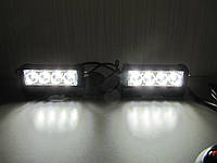 Стробоскопы  белые S5-4 LED.12В. с ДХО. Очень яркие. https://gv-auto.com.ua, фото 1