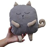 Декоративний виріб Сірий Кіт