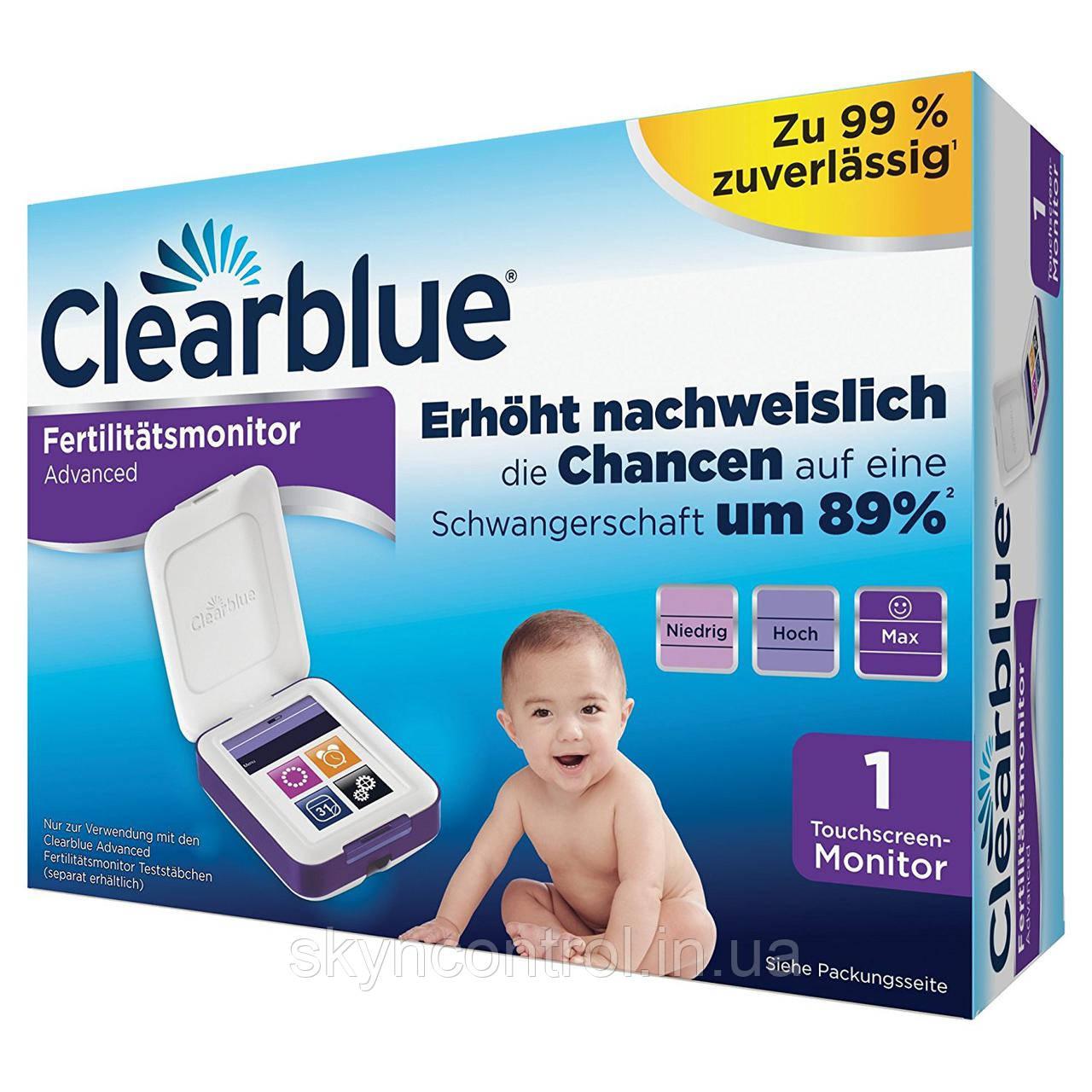 Монитор фертильности Clearblue, сенсорный экран, помогает быстрее забеременеть