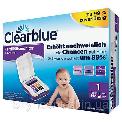 Монитор фертильности Clearblue, сенсорный экран, помогает быстрее забеременеть, фото 2