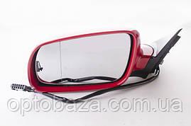 Зеркало левое красное для Volkswagen passat B5 (1997-2005), фото 2