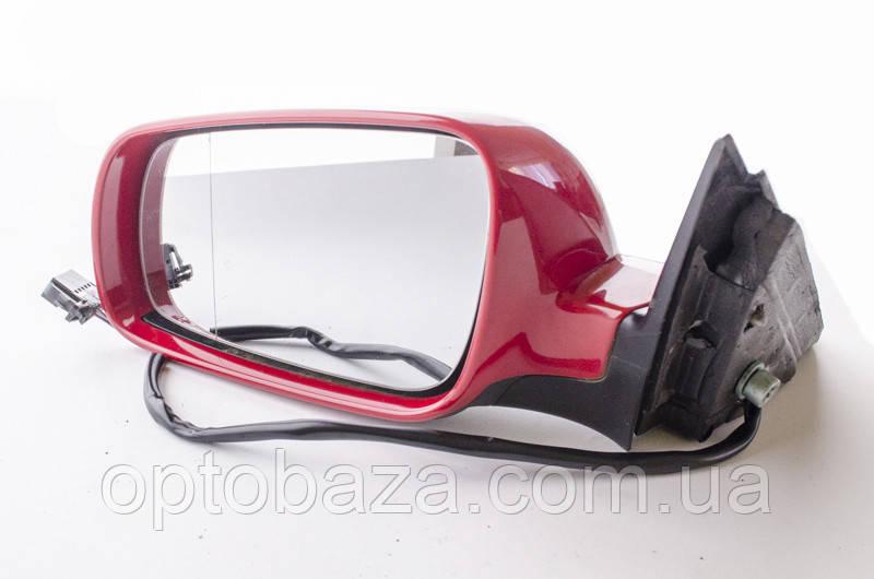 Зеркало левое красное для Volkswagen passat B5 (1997-2005)