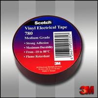 Изоляционная лента 3М Scotch 780 (19 мм. х 20 м. х 0.18 мм.).Широкого спектра промышленного применения.780