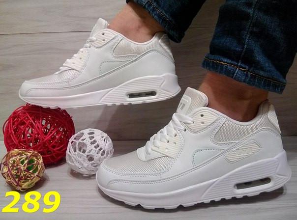 9ff2e3b7b32b Женские кроссовки аирмаксы (белые)(реплика)  продажа, цена в Днепре ...