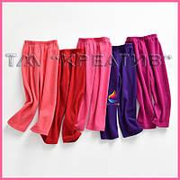 Флисовые детские штаны оптом (под заказ от 50 шт) с НДС