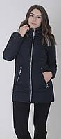 Куртка женская весенняя м-157 темно-синий