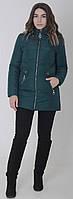 Куртка женская весенняя м-157 малахит