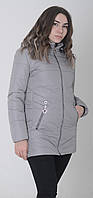 Куртка женская весенняя м-157 серый