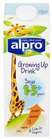 Молоко соевое детское без глютена и сахара Alpro 1л Бельгия