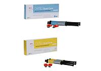 Дэну дюал кор (желтый А3, синий ) цемент 2-го отверждения для фиксации Denu Dual Core
