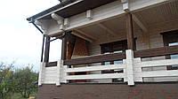Дом из клееного профилированного бруса