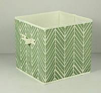Ящик складной для игрушек, короб для книг, одежды и пр. Елка