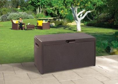 Ящик для хранения Rattan style box