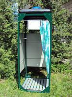 Душевая кабина на дачу. Дачный летний душ