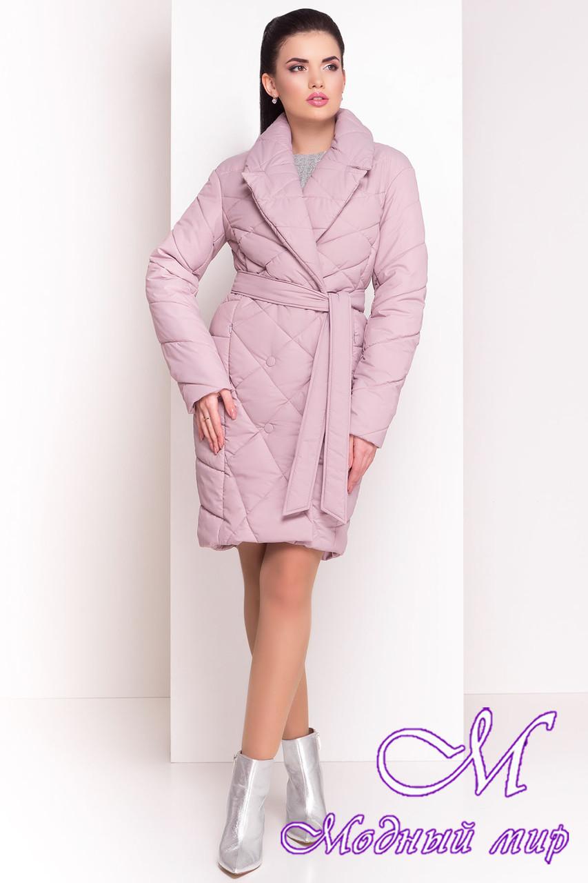 """Женское стеганое демисезонное пальто (р. XS, S, M, L, XL) арт. """"Сандра 4526"""" - 21530"""