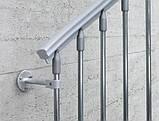 Винтовая оцинкованная лестница Fontanot Steel Zink D140, фото 3