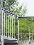 Винтовая оцинкованная лестница Fontanot Steel Zink D140, фото 5