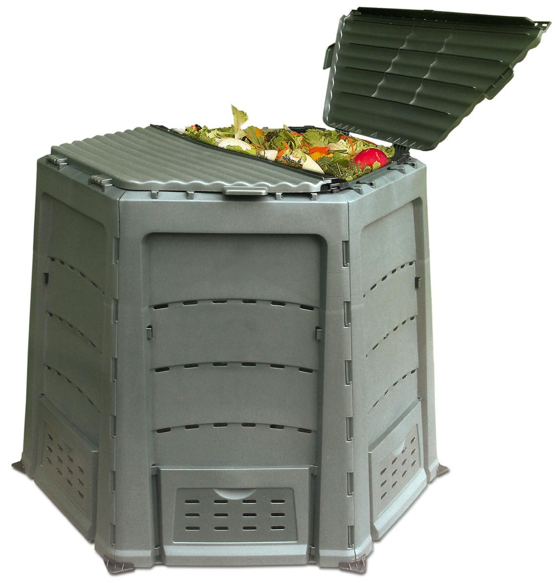 Пластиковый компостный ящик, контейнер Thermoquick Express 800