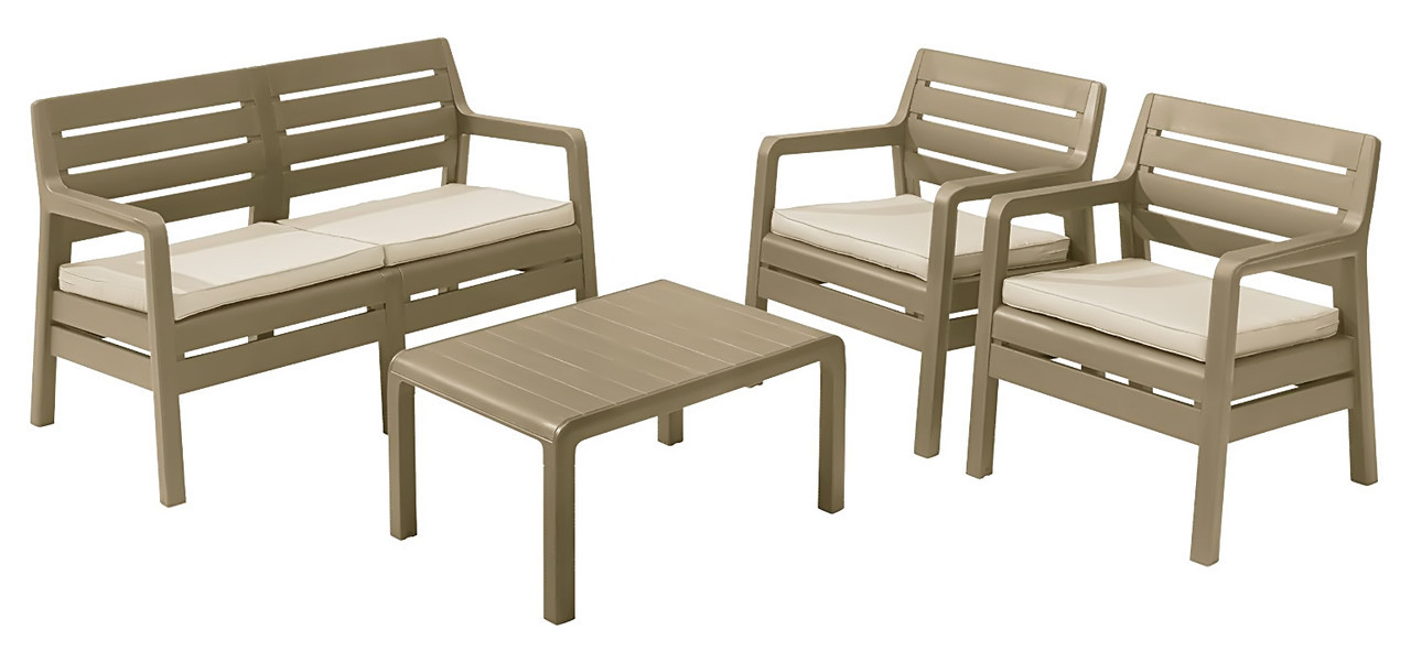 Пластиковая мебель для дачи  Delano lounge set