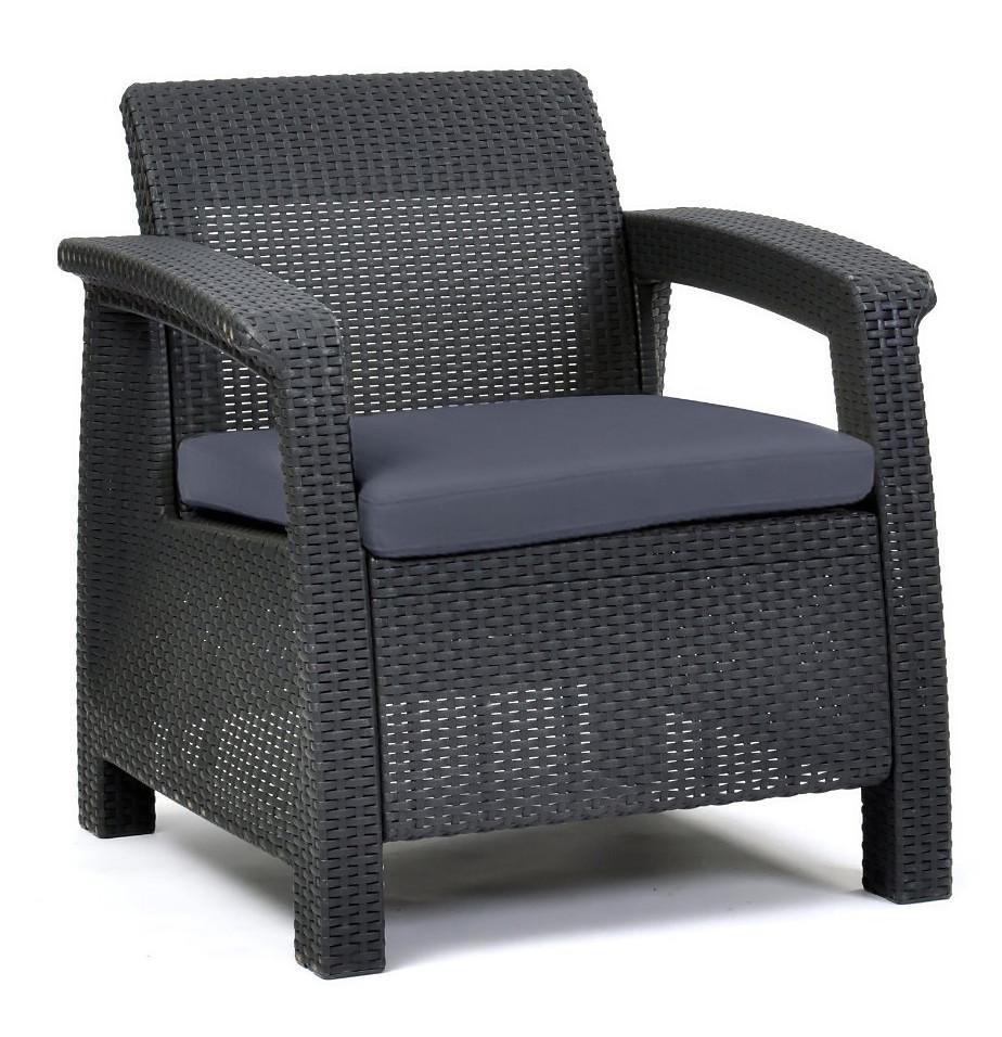 Пластиковое кресло Corfu Duo, серый