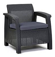 Пластиковое кресло Corfu Duo, серый, фото 1