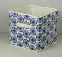 Ящик складной для игрушек, короб для книг, одежды и пр. Кружки