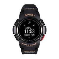 Смарт часы для спорта NO.1 F6 водонепроницаемые c bluetooth 4.0 и приложением для смартфона