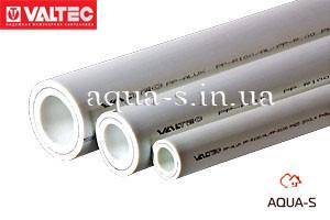 Труба армированная Valtec PP-ALUX DN 40 PN 25 с алюминием (белая) VTp.700.AL