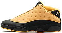 Баскетбольные кроссовки Nike Air Jordan 13 Retro Low Chutney Black Найк Аир Джордан 13 черные
