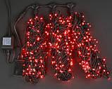 Светодиодная гирлянда для украшения деревьев ЛУЧ-3 (Каучук), фото 3