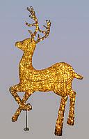 Акриловая фигура светодиодный олень 1.35м